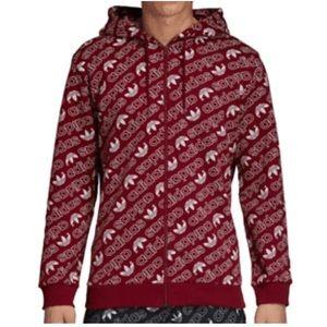 Men's Adidas Originals Monogram Fleece Hoodie